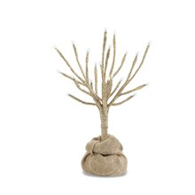 1 Ft. LED Champagne Glitter Tree by Apothecary & Company™, medium