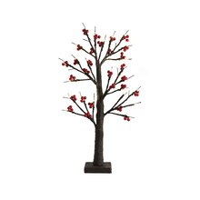 2 Ft. LED Cranberry Tree by Apothecary & Company
