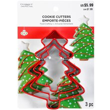 Christmas Tree Cookie Cutter Set By Celebrate It Package