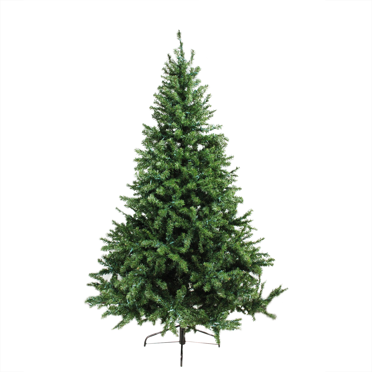 6 Ft. Pre-Lit Canadian Pine Artificial Christmas Tree, Candlelight ...
