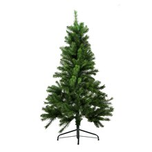 4.5 Ft. Medium Mixed Pine Artificial Christmas Tree, Unlit, medium