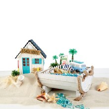 Shoreline Beach House Planter, medium