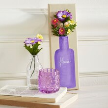 Flower Vase Canvas, medium