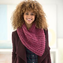 Lion Brand® Wool-Ease® Thick & Quick® Bonus Bundle New Direction Cowl, medium
