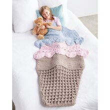 Bernat® Blanket™ Double Scoop Crochet Snuggle Sack, medium