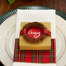 Classic Christmas Table Favor, medium