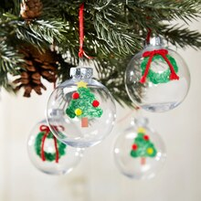 Thumbprint Ornament, medium