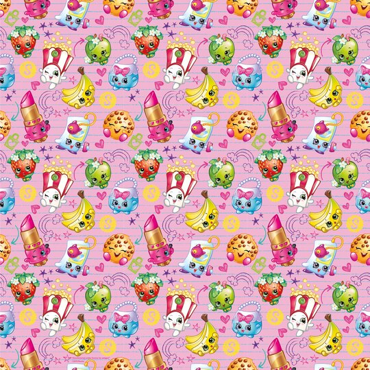 Shopkins Wrapping Paper Roll Shopkins Gift Wrap