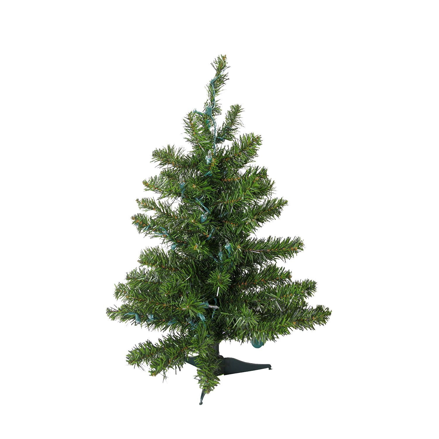 Quot natural two tone pine artificial christmas tree unlit