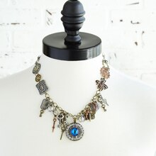 Steampunk Necklace, medium