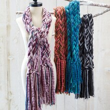Friendship Yarn Scarf, medium