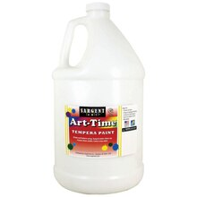 Sargent Art Art-Time White Tempera Paint, Gallon