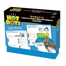 Hot Dots Word Problems Set, Grades 4-6