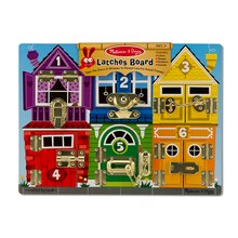 Latches Wooden Learning Board