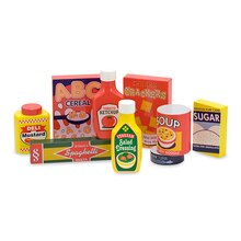 Pantry Products Wooden Play Food Set