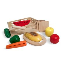 Cutting Wooden Play Food