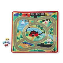 'Round the Town Road Rug & Car Set
