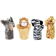 Zoo Hand Puppets Set 1
