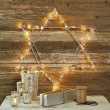 Hanukkah Star of David, medium