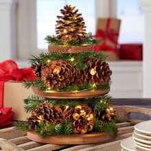 Pinecone Christmas Tree, medium