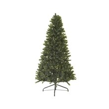 7.5 Ft. Pre-Lit Traditional Mixed Pine Artificial Christmas Tree, Clear Lights
