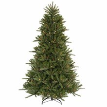 7.5 Ft. Pre-Lit Vermont Fir Instant Shape Artificial Christmas Tree, Multicolor Lights