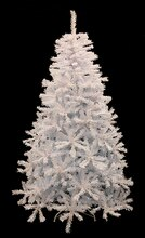 7.5 Ft. White Cedar Pine Artificial Christmas Tree, Unlit