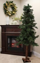 6 Ft. Woodland Alpine Artificial Christmas Tree, Unlit