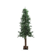 7 Ft. Woodland Alpine Artificial Christmas Tree, Unlit