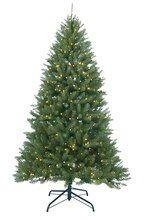 9 Ft. Pre-Lit Essex Pine Medium Artificial Christmas Tree, Clear Lights