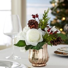 Christmas Floral Arrangement, medium