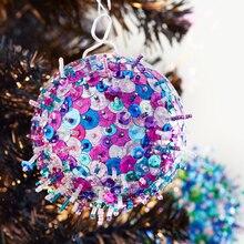 Cosmic Meteor Christmas Ornament, medium