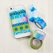 Washi Tape Phone Case, medium