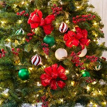 Red Bowtastic Christmas Tree Décor, medium