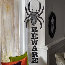 Halloween Spider Wall Hanging, medium