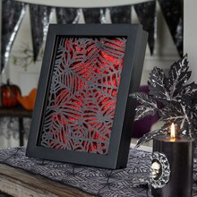 Spiderweb Shadow Box, medium