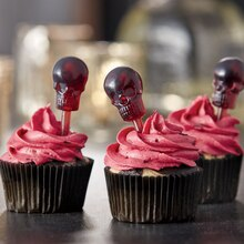Black Widow Cupcakes, medium