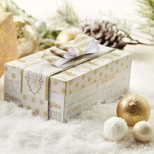 Christmas Paper-Covered Box, medium