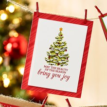 Bring You Joy Tree Christmas Card, medium