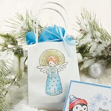 Singing Angel Gift Bag, medium