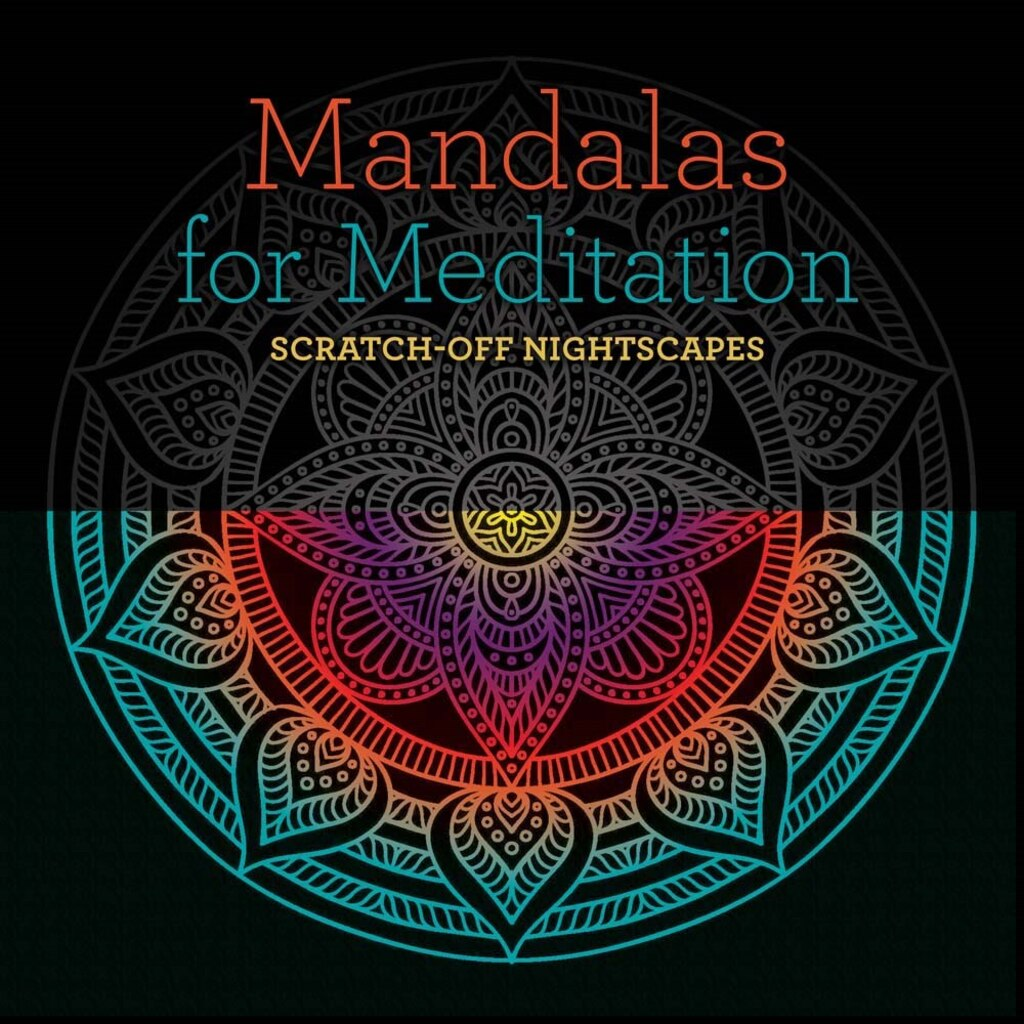 Mandalas For Meditation Scratch Off Nightscapes
