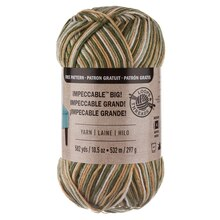 Loops & Threads Impeccable Big! Yarn, Sage Butter