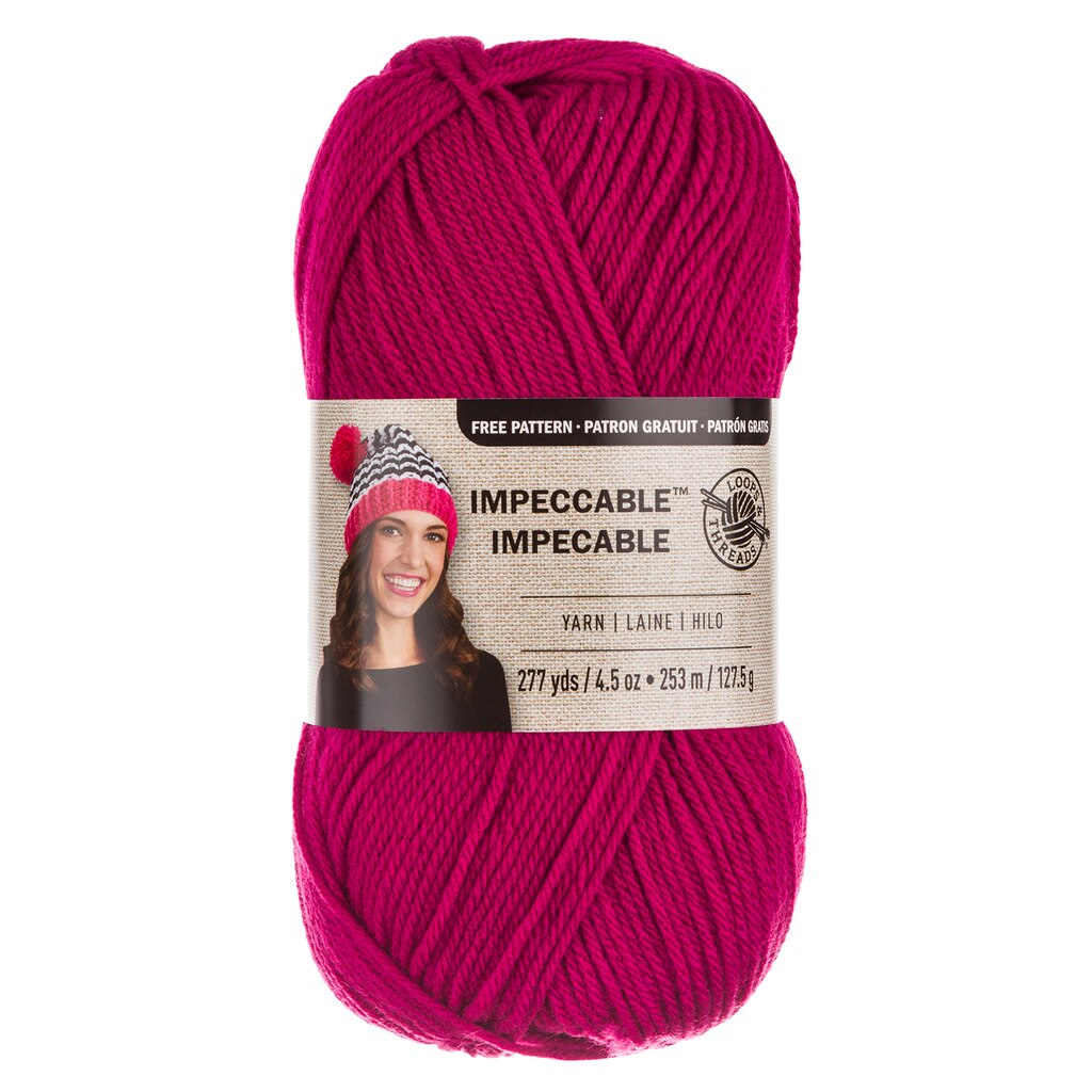Loops & Threads® Impeccable™ Yarn, Solid