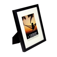 "Black Wood With Mat Tyler Frame by Studio Décor, 5"" x 7"""