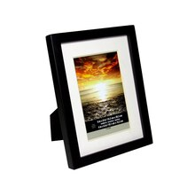 "Black Wood With Mat Tyler Frame by Studio Décor, 4"" x 6"""