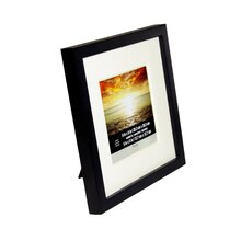 "Black Wood With Mat Tyler Frame by Studio Décor, 5"" x 5"""