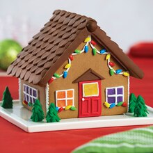 Gingerbread Cottage Kit with Fondant Decorations, medium