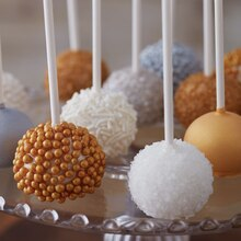 A Pop of Metallic Cookie Pops, medium