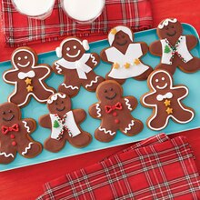 Gingerbread Boy and Girl Cookies with Personality, medium