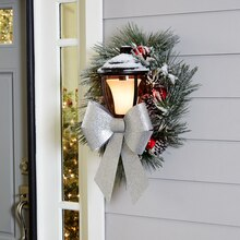 Water Resistant Ribbon Porch Light Décor, medium
